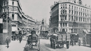 Holborn Circus, London in 1890