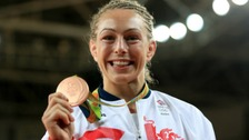 'I can't stop smiling' - Sally Conway celebrates bronze