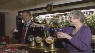Frank has taken over the title of Britain's oldest landlord from his mother, Mabel