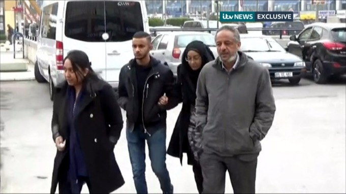 ITV News followed relatives of the girls to Turkey as they retraced their journey.