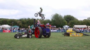 Highlights from the stunt display team include: Quad Stunts, Ramp Jumping, Fire Stunts Explosions and Trick Riding
