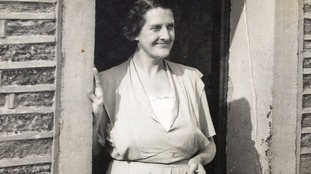Frank's mother Mabel, who made it into the the record books as Britain's oldest landlady