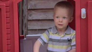Toddler survives rare flesh-eating infection after bout of chicken pox