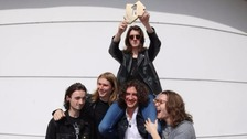 Stockport band Blossoms are celebrating success after going straight to Number One in the Album Charts