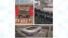 The Riverside Stadium's revamp.