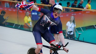 Tearful Clancy 'overwhelmed' by team pursuit gold