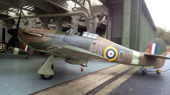 Hurricane to go under the hammer