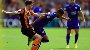 Hull City start Premier League campaign by beating champions Leicester