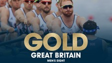 Great Britain's men eight team claimed gold at Rio 2016.