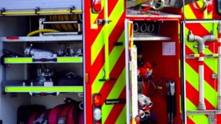 Firefighters tackle activity centre blaze