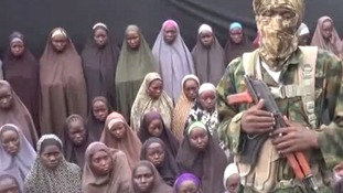 Islamist militants Boko Haram release new video appearing to show kidnapped Chibok schoolgirls