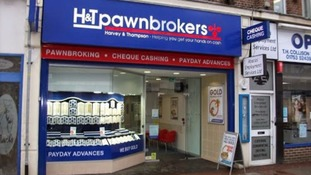 Armed robbers on motorbikes raid pawnbrokers