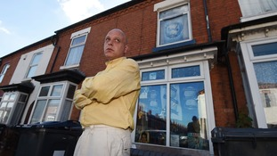 Barry Evans' Sparkhill home is decorated with Blues memorabilia