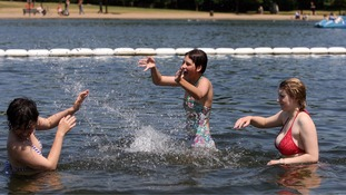 Billions of litres of extra water on standby as Britain faces another heatwave