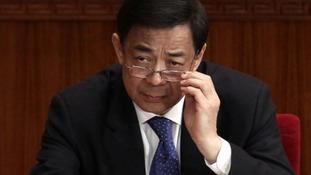 Chinese politician Bo Xilai