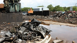 Scrapyard with 50 years of dumped waste to be restored to peat bog