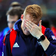 There's been more disappointment for Greg Rutherford.