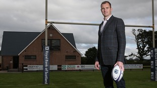 Rugby legend joins Annan RFC board
