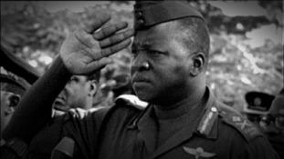 The former Ugandan President Idi Amin