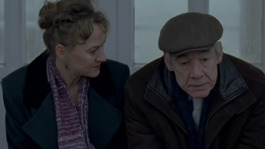 Roger Lloyd Pack with Co-star Niamh Cusack