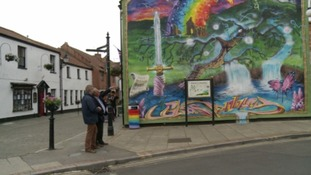Hooray! Glastonbury mural allowed to stay