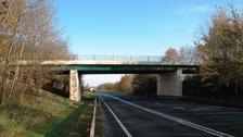 Rock Road bridge