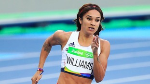 Jodie Williams has made it through to the semi-finals in Rio.