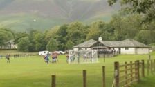 Keswick FC have a new clubhouse and pitch.