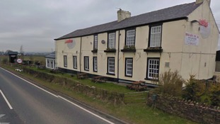 The Britannia Inn on Haslingden Old Rd, Oswaldtwistle