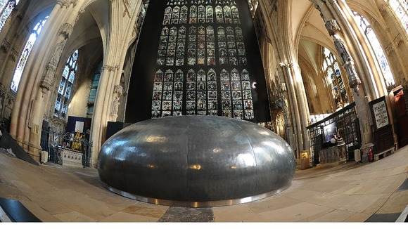 The Orb inside York Minster