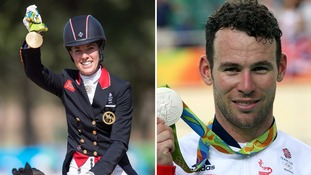 Rio 2016: Charlotte Dujardin and Mark Cavendish add to Team GB medal haul