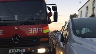 A firebrigade says it is being delayed getting to the scene of emergencies because of bad parking.