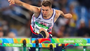 Andrew Pozzi will be hoping of getting to the Olympic final in the 110m Hurdles