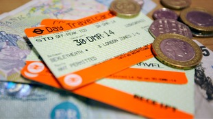 Another rise in rail fares was announced on Tuesday.