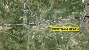 Map showing airgun attacks location