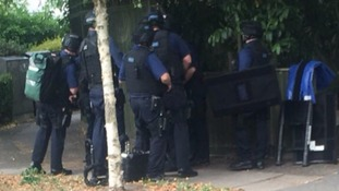 Gunman arrested in Wimbledon as armed police swoop