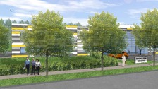 Artist's impression of Porton Science Park
