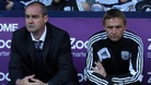 West Brom manager Steve Clarke (left) and joint assistant coach Kevin Keen have overseen an impressive start to the season.