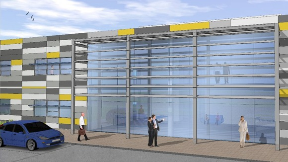 The proposed Innovation Centre at Porton Science Park