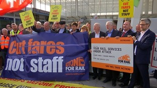 Rail fares hike met with anger by commuters