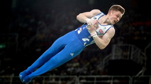 Wilson competed in the horizontal bar