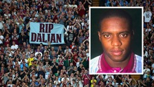Applause rang out on the 10th minute of last night's game, to honour Villa's former number 10.