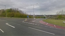 The collision happened at around 6 o'clock last night at the junction of Newton's Lane and Shilo Way.