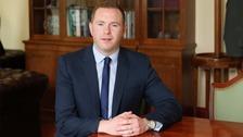 Infrastructure Minister Chris Hazzard has announced a £160m dualling scheme.