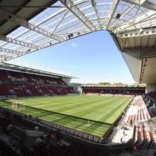 Ashton Gate Stadium.