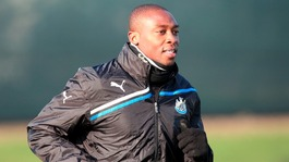 Newcastle United striker Shola Ameobi suffered alleged racist abuse on the social networking site, Facebook.