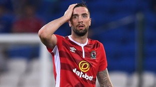 Shane Duffy was sent off at the death in the 2-1 defeat.
