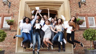 Students in England & Wales received their A-level results today