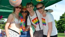 Warwickshire Pride takes place in Leamington Spa this weekend.