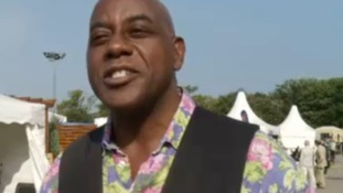 Celebrity chef Ainsley Harriott opened the event